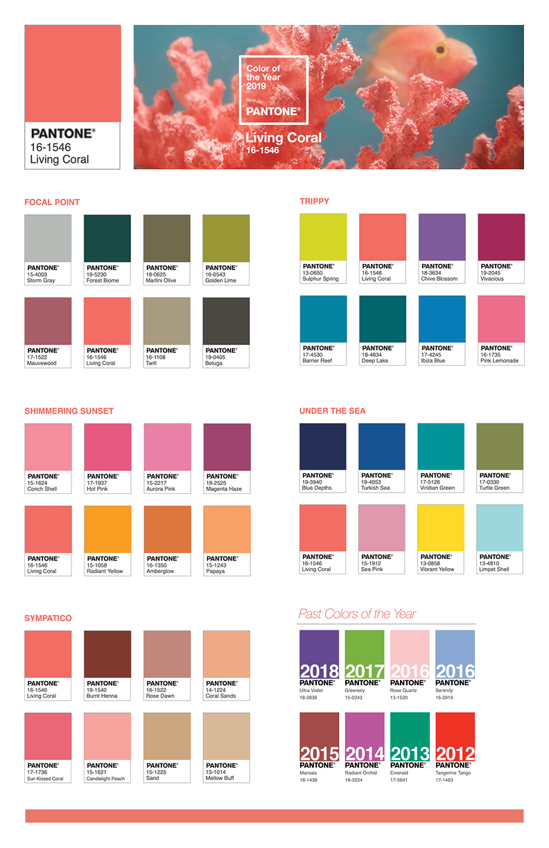 pci creative group stamford ct marketing services 2019 pantone color of the year. Black Bedroom Furniture Sets. Home Design Ideas